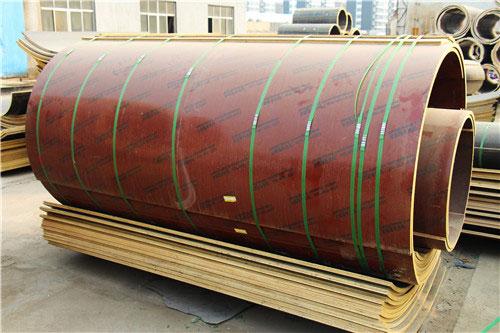 对废弃的圆柱模板你们厂回收吗