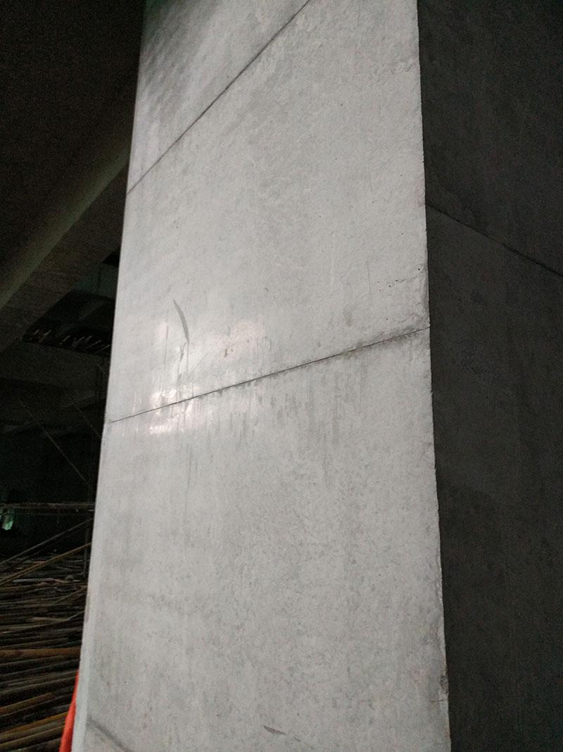 覆塑方柱模板脱模效果【图】