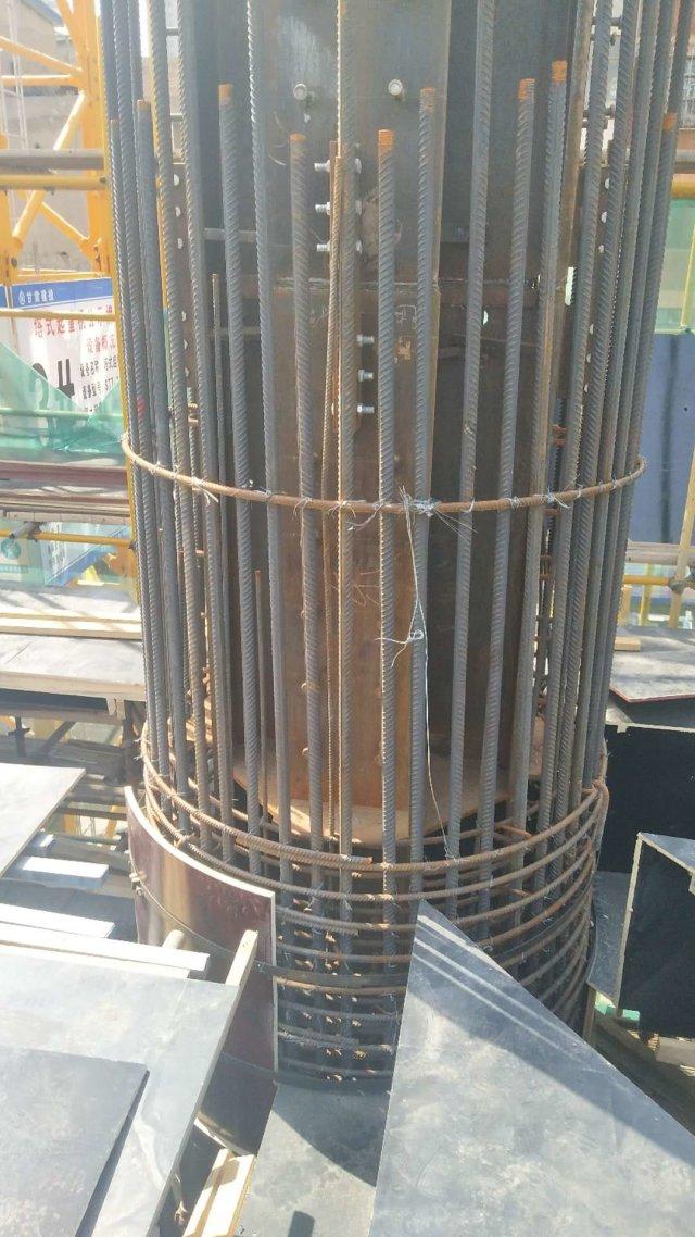圆形柱子模板做法
