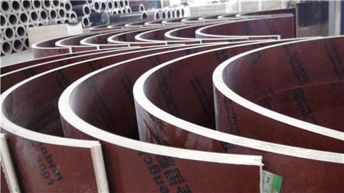 圆柱造型模板