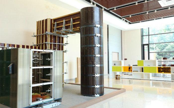 圆柱墩模板每平方有多重 1米直径的圆柱墩模板1米有多重