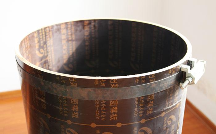 混凝土圆柱模板的4大优势 对比圆柱钢模板为何选圆柱木模板