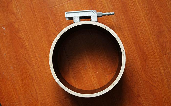圆柱定型木模板施工方案 安装定型圆柱木模板工艺步骤