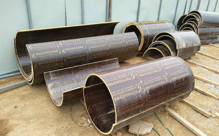 圆柱定型木模板施工方案 对比钢模板施工更便捷