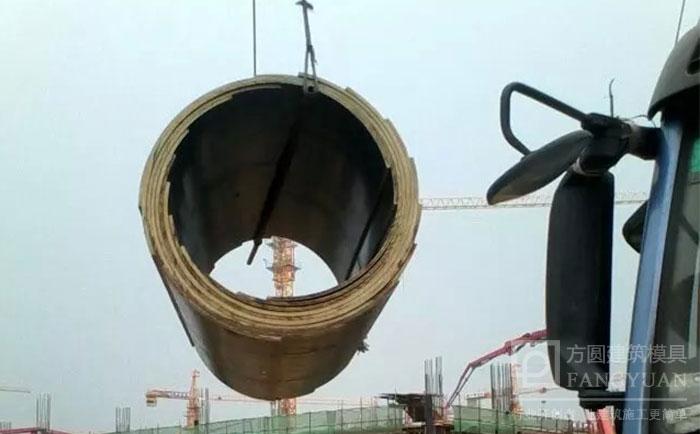 圆柱形墩柱模板吊装5要素 桥梁墩圆形柱模板如何装卸