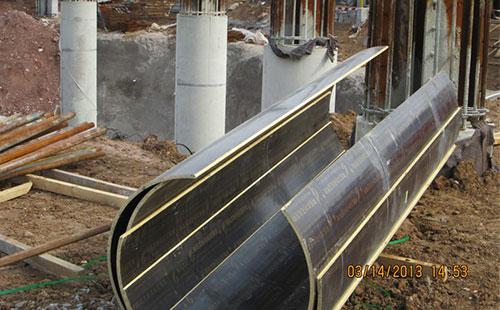 河南开封圆柱模板采用木制比钢模板的优势