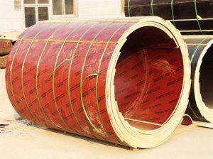 木制建筑圆模板施工支模4大注意事项